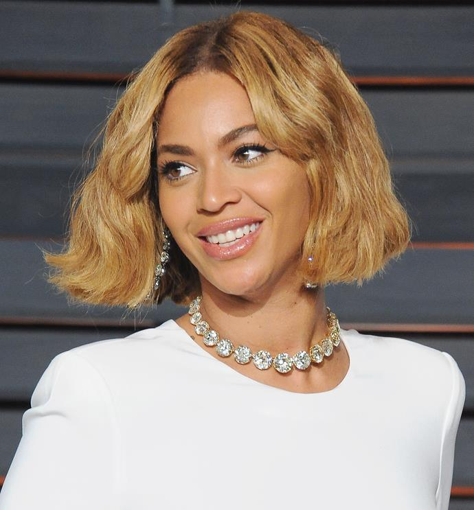 """It's the Queen Bey herself, [**Beyoncé Knowles**](http://www.nowtolove.com.au/tags/beyonce-knowles