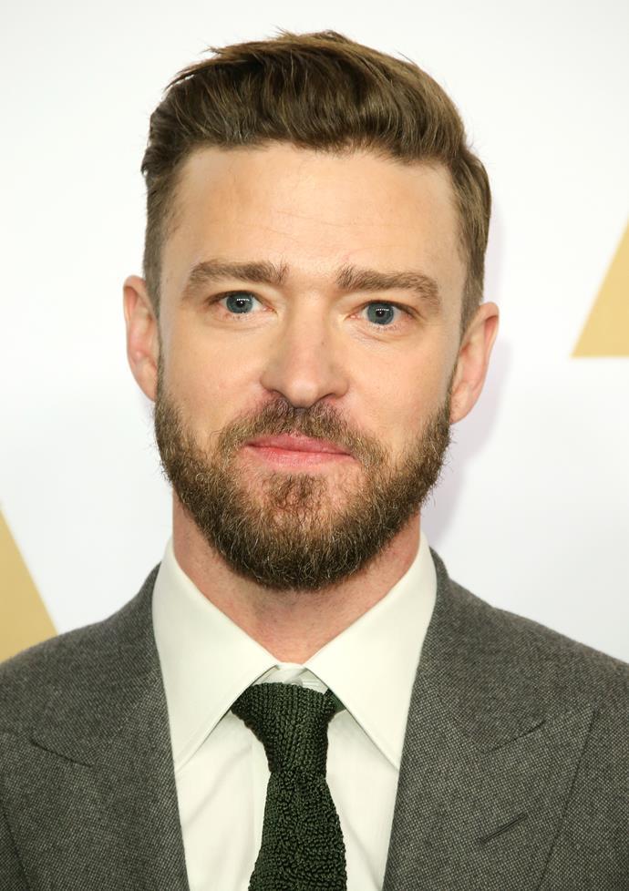 "It's singer/actor, **[Justin Timberlake](http://www.nowtolove.com.au/celebrity/celeb-news/justin-timberlake-crashes-couples-wedding-28824|target=""_blank"")**."