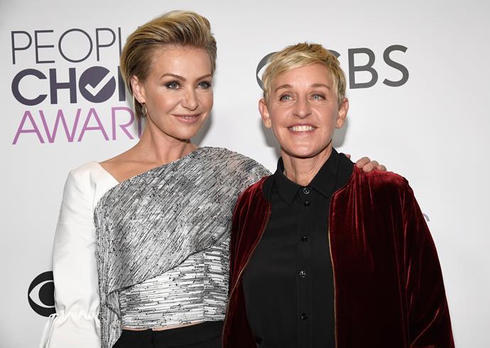 "Yep, it's longtime talk-show host, **[Ellen DeGeneres](http://www.nowtolove.com.au/tags/Ellen-DeGeneres|target=""_blank"")**."