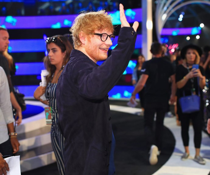 Holler! Ed Sheeran is in the house.