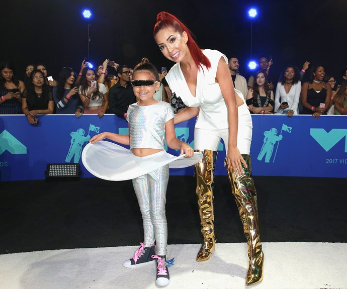 *Teen Mom* star Farrah Abraham and her daughter Sophia went galactic chic.