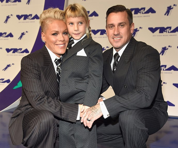 The singer-songwriter's husband and Willow's dad, Carey Hart, was also in attendance.