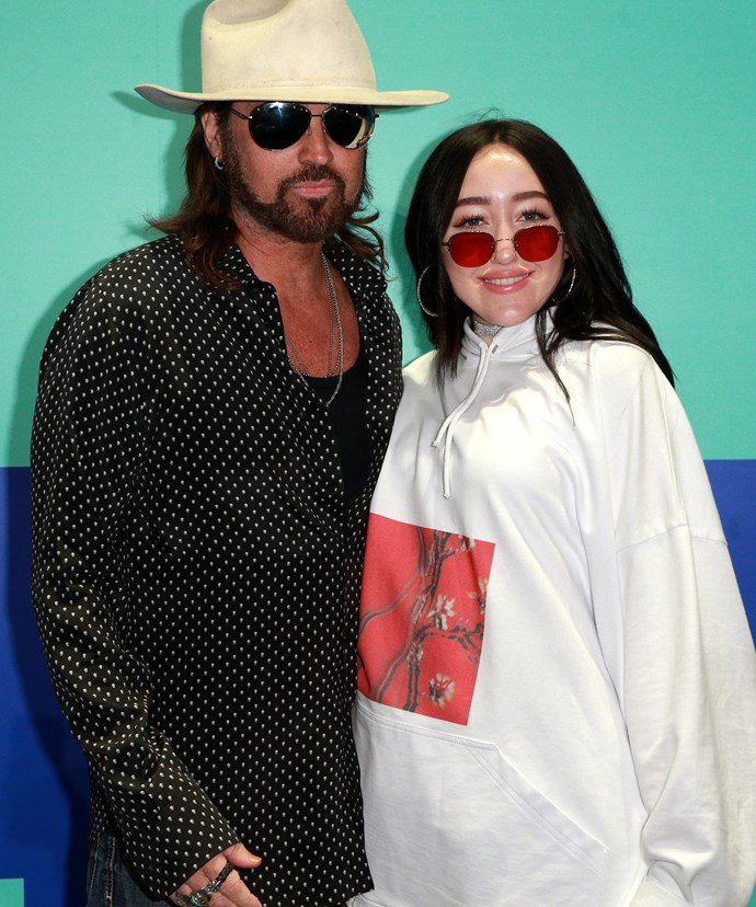 It's our favourite father daughter-duo, Billy Ray and Noah Cyrus.