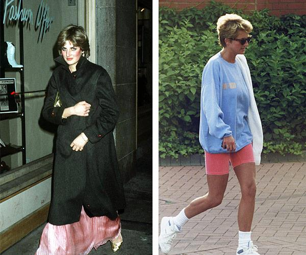 Whether she was hitting Kensington high street or sneaking into Harvey Nichols, Diana loved nothing more than spending her days off enjoying the best of London.