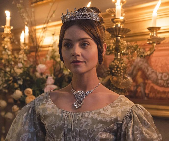 ***Victoria*** **S2, Foxtel On Demand - September 5:** The royal series starring Jenna Coleman returns early this month and it picks up a month after Queen Victoria gave birth for the first time. But now, the Queen is left juggling her roles as a mother, wife and ruler. How can she manage all three?