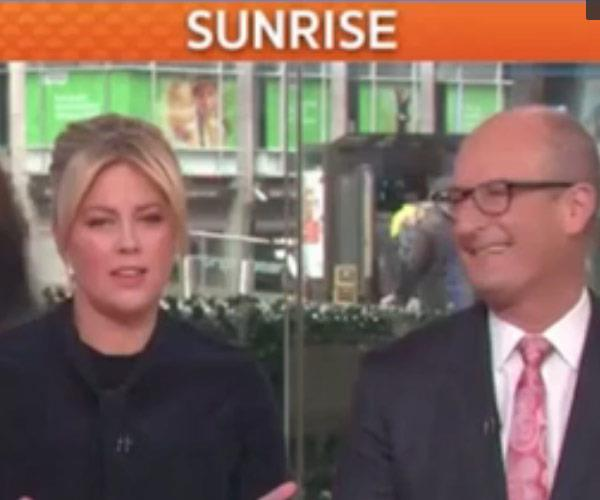 At the time of the showdown, Kochie decided to just sit back and watch... Relive it all in the video at the top!