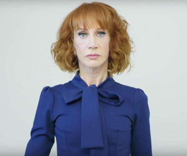 In May, the 56-year-old decided to respond to Donald Trump's Presidency by posing in a very confronting photo shoot, in which she holds his bloodied, decapitated head. The photo cost Kathy her job and her reputation.
