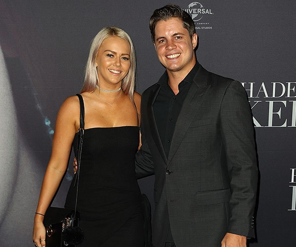 Johnny has found incredible support with his girlfriend of two-and-a-half years Tahnee Sims.