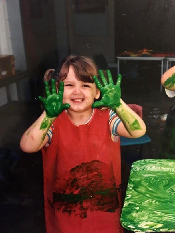 Me at preschool.