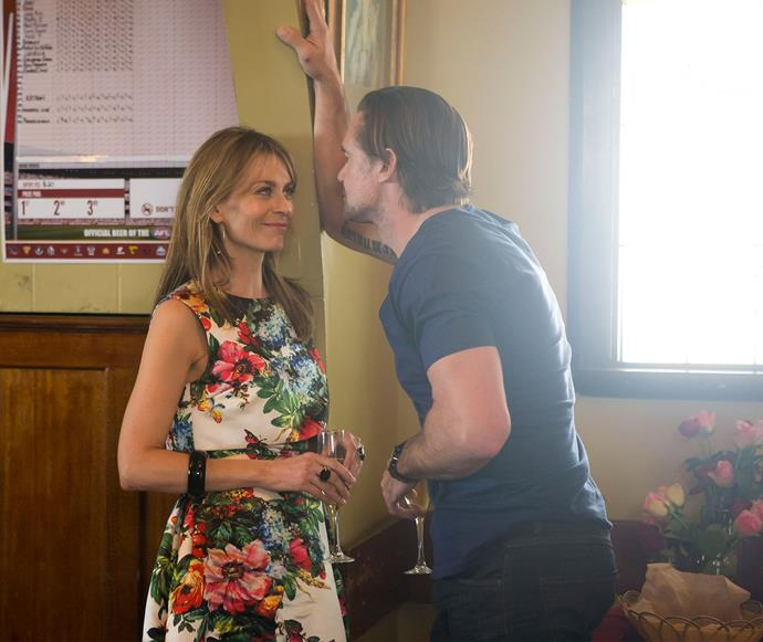 **Billie finds happiness:** It's been a tough season for Billie, but it looks like happiness is on the horizon for her and her new boyfriend Dan (Jeremy Lindsay Taylor).