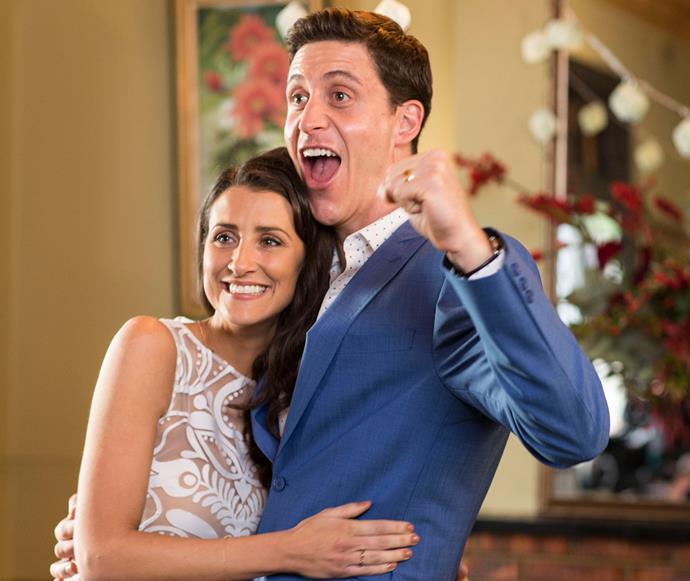 **Will and Kerry are back on track:** In the finale Kerry (Ash Ricardo) confesses to Will (TJ Power) that she can't have children. She's worried he will want to get their marriage annulled and refuse to renew their vows - but thankfully things all work out in the end!