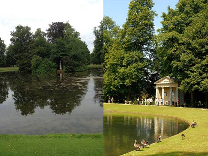 The Spencer family's 500-year-old ancestral Althorp Estate.