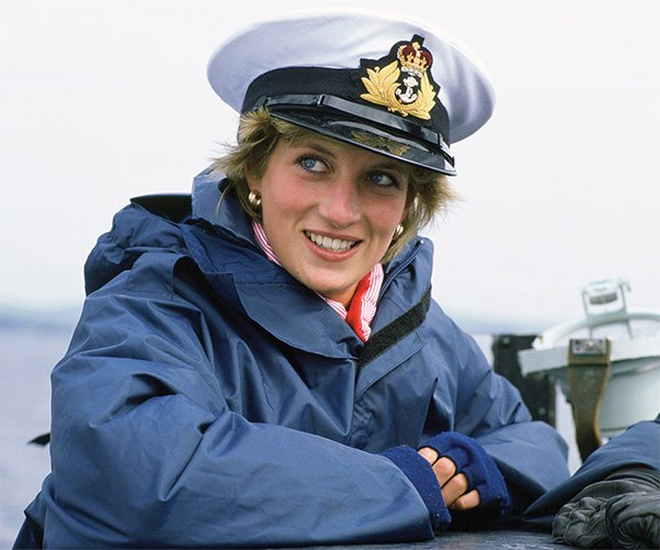 "Pictured in 1986, Diana captained her life with this sentiment: ""Everyone of us needs to show how much we care for each other and, in the process, care for ourselves."""