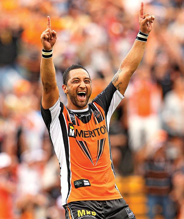 Benji is returning to the Wests Tigers next season.