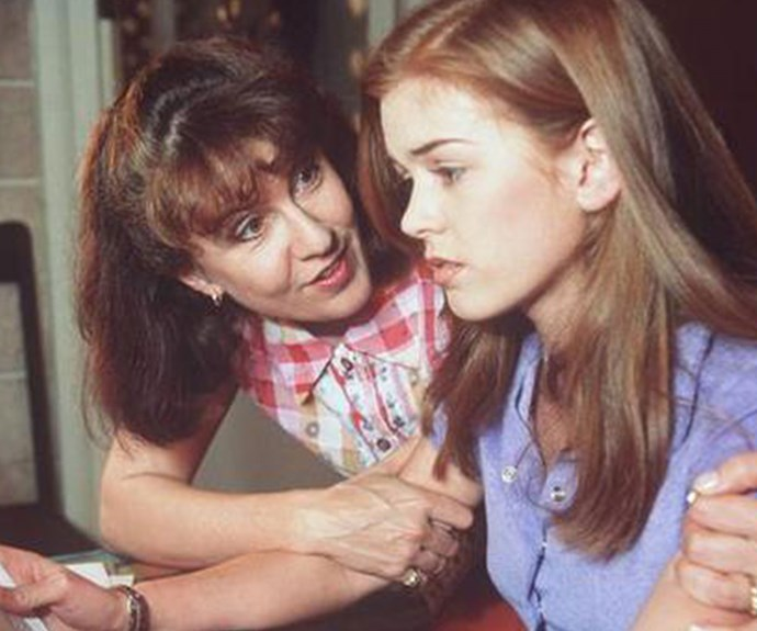 Debra and Isla in *Home And Away* as Pippa and Shannon.