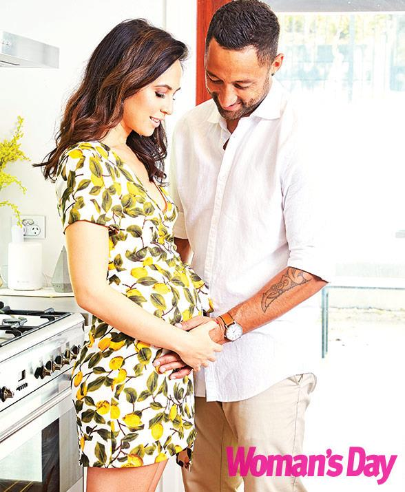 The couple are due in February.