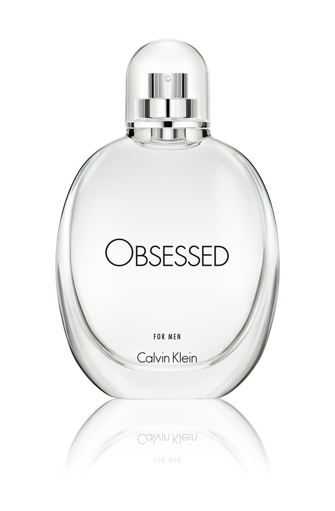 Calvin Klein Obsessed For Men EDT, 125ML $99, available at Myer, David Jones and selected pharmacies nationally.
