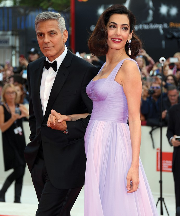 George and Amal Clooney swept into the 74th Venice Film Festival.