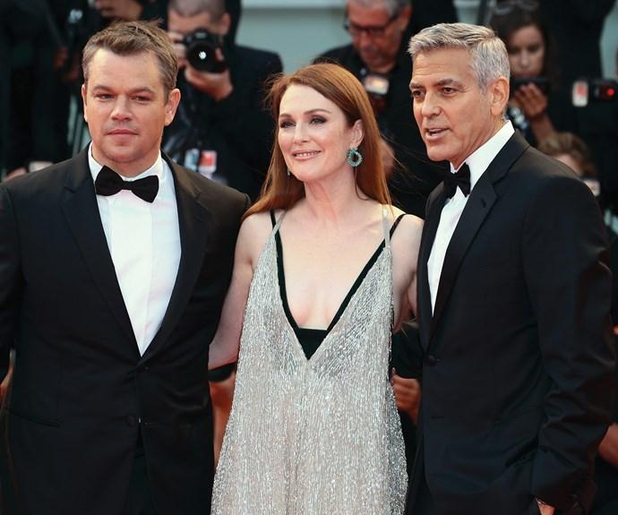 Matt Damon and Julianne Moore star in the movie.