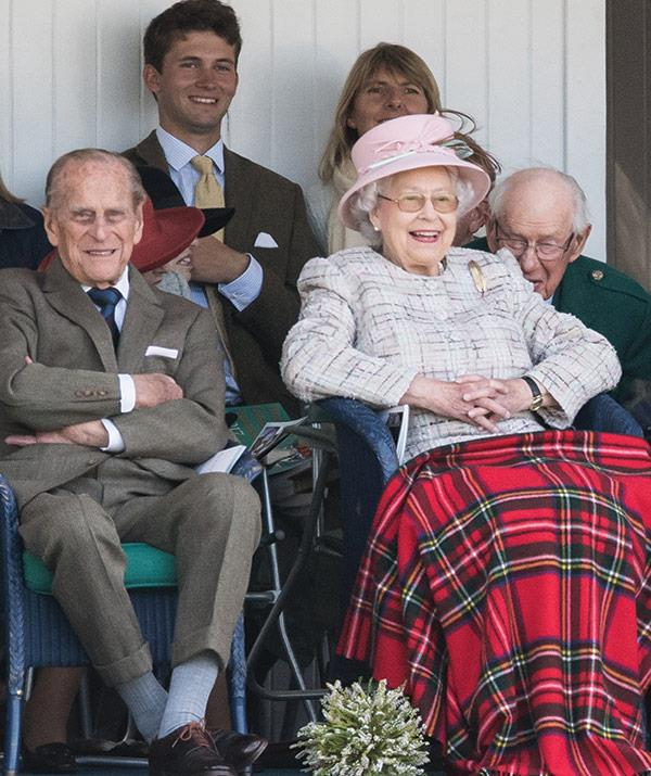 The Duke of Edinburgh made his first appearance since retiring a month ago.