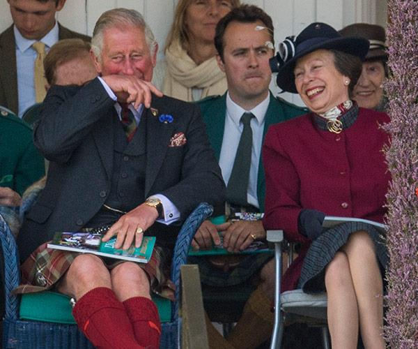 The event is very close to the royal's beloved Balmoral castle.