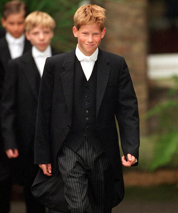Like big brother Wills, Harry attended Eton and was consider somewhat of a jokester.