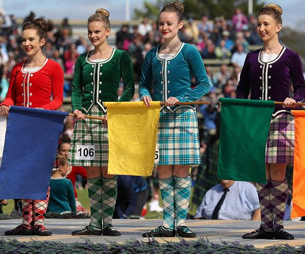 The Braemar Gathering is the highlight of the Highland Games.