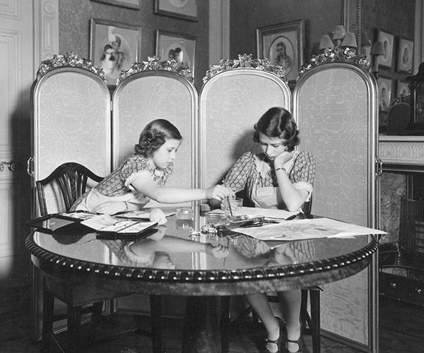 The Queen and younger sister Princess Margaret were home-schooled.