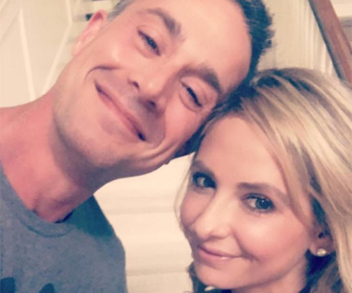 "Sarah Michelle Geller and Freddie Prinze Jr. just celebrated their 15th wedding anniversary. In celebration of the momentous milestone, the 39-year-old posted an adorbs montage video of the couple. ""My husband thinks I'm crazy, but I'm not the one who married me. #happyanniversary @realfreddieprinze 15 years!!"" She captioned the vid. Aww!"