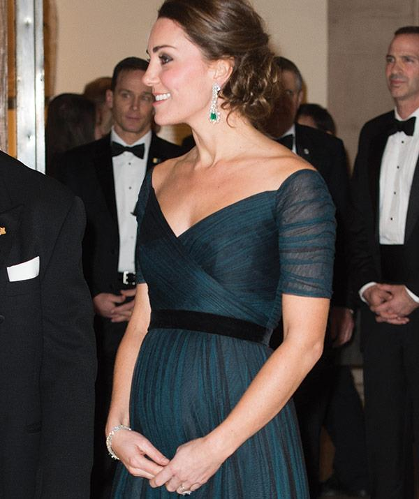 The couple attended attended the St. Andrews 600th Anniversary Dinner at the Met.