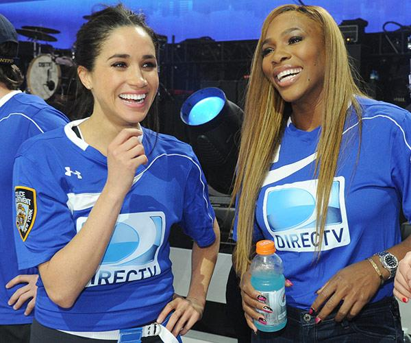 Serena and Meghan together in 2014