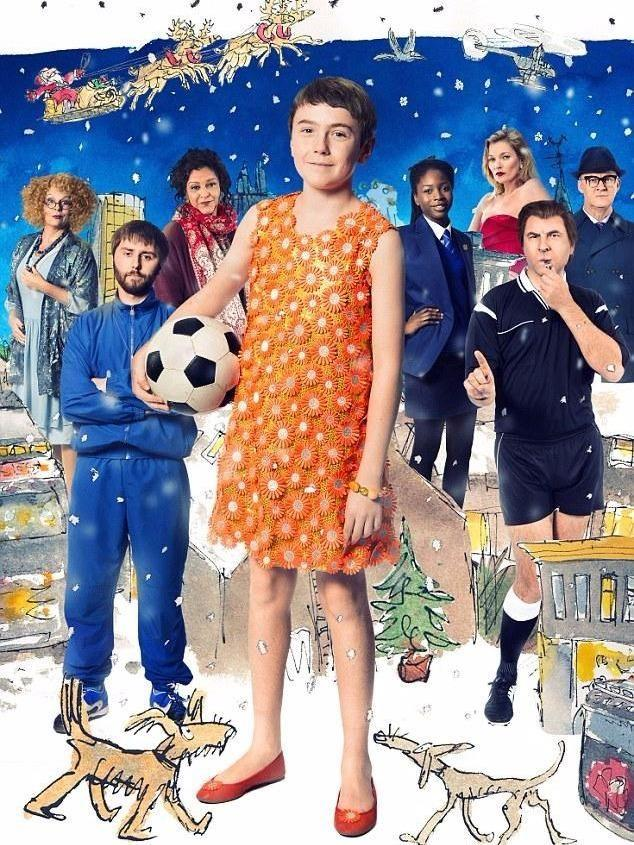 The Boy in a Dress is also movie staring Walliams and Kate Moss.