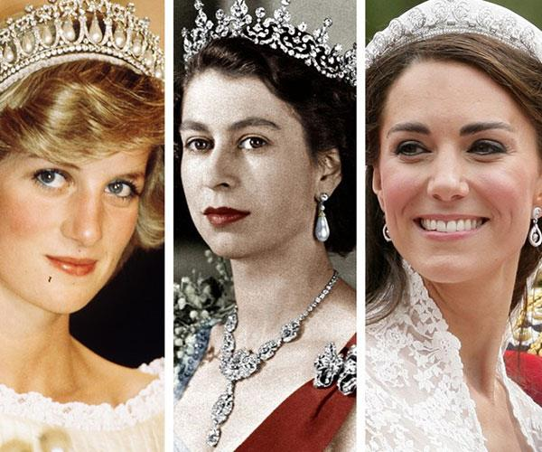 **It's up to the Queen who gets to keep what gift, though.** Anything given to any member of the Royal Family actually belongs to the reigning monarch—Queen Elizabeth II. So reselling or regifting any present is strictly forbidden for them. But the Queen can loan out gifts to whoever she wishes; that's why you see a lot of Princess Diana's jewelry on other members of the Royal Family.