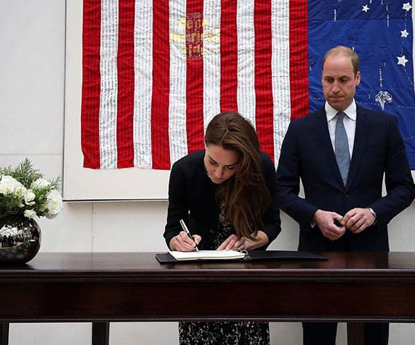 **You're not allowed to sign autographs.** Anything other than official papers authorized by the Queen is a big no-no for Kate Middleton to sign. This is to prevent her signature from being forged.
