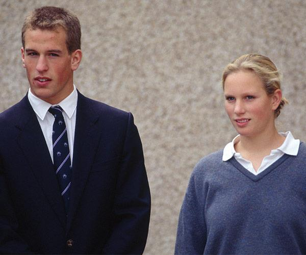 Peter and Zara, who don't have official royal titles, shared a very similar educational path.