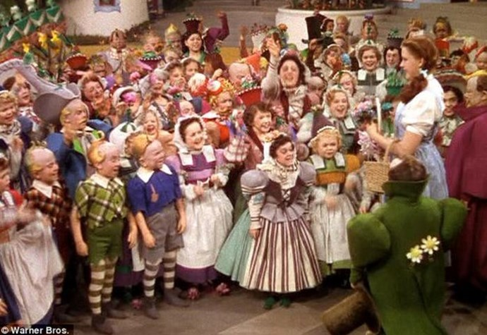 Many of the actors who played Munchkins had fled to the U.S. from Germany to escape the Nazis. Because most did not speak English, the majority of their voices are dubbed in the film.