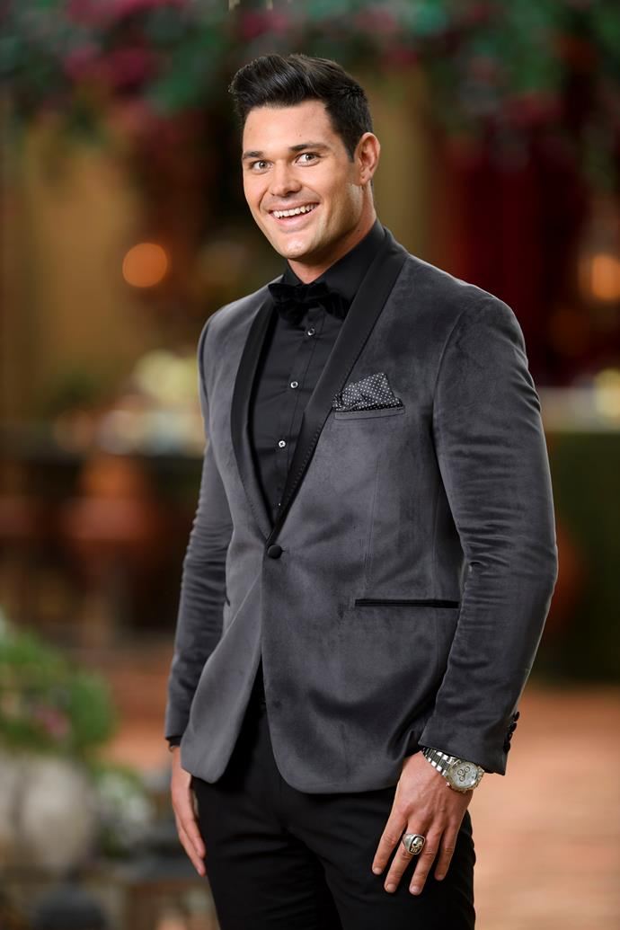 **Apollo, 24, Magician, QLD**  They say love is like magic. So if Apollo plays his cards right, the 24-year-old magician could just be the last man standing.  A self-confessed romantic, Apollo is confident Sophie won't be able to resist his charms and magic tricks. Infact, not even a 13-year age gap will stop him from winning Sophie over. Apollo is looking for a woman who can share his passion for philanthropy and knows what she wants in a relationship.