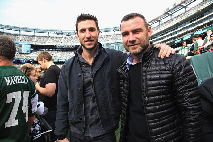 **Pablo and Liev Schreiber**  Acting runs in this family! While Liev is the better-known brother, Pablo has appeared in *Law and Order: SVU* and *Orange is the New Black*.
