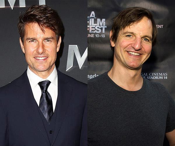 **Tom Cruise and William Mapother**  The two actors are cousins. Mapother even appeared in **Mission Impossible:II*.