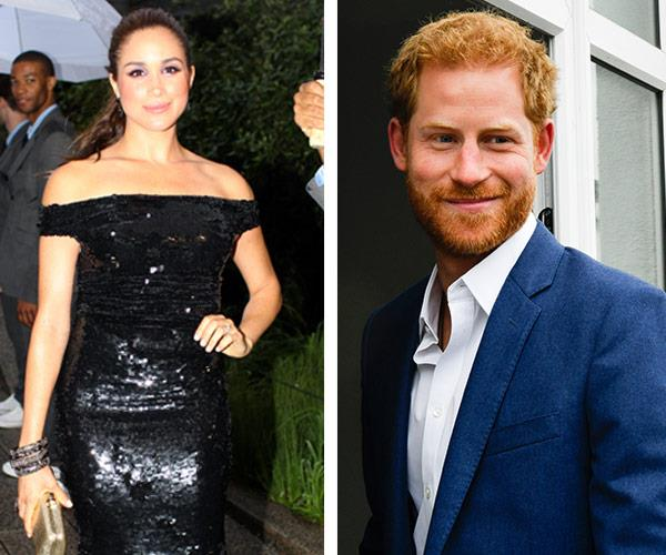 """""""We're two people who are really happy and in love,"""" Meghan says of their romance."""