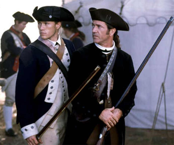 Mel and Heath co-stared in *The Patriot* together.