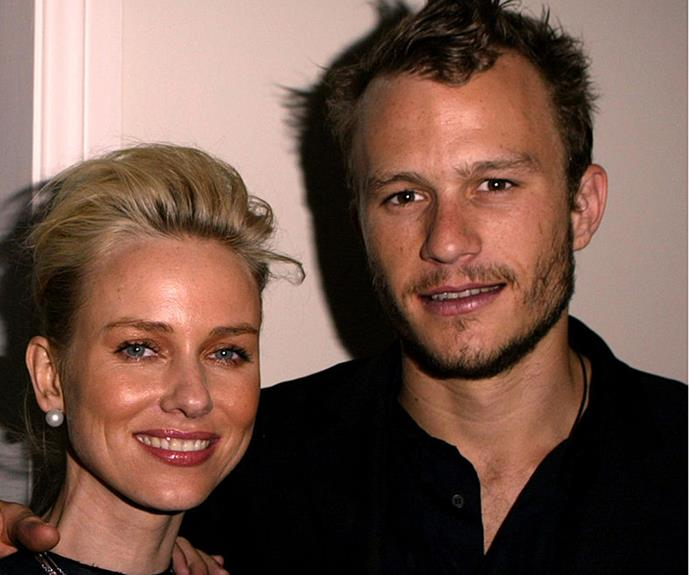 Heath and Naomi dated for two years.