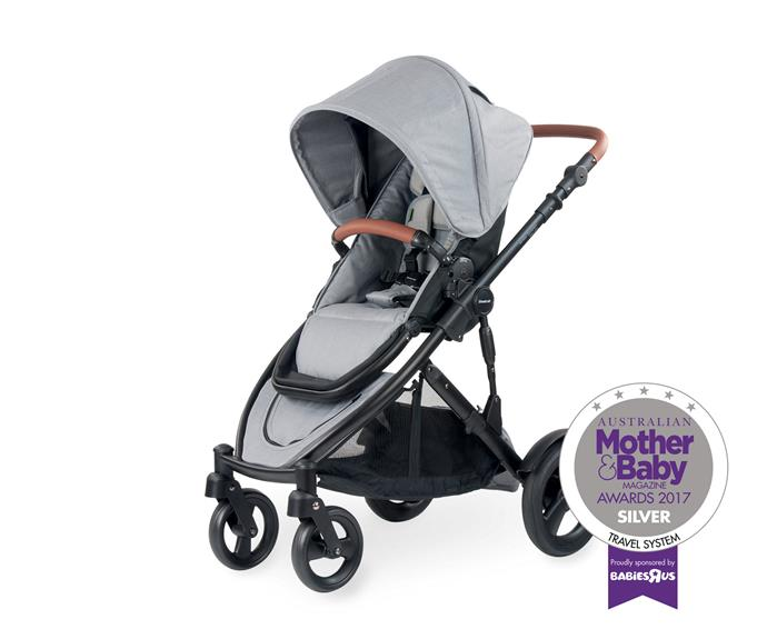 The Strider Compact stroller is leaner, lighter and smoother.