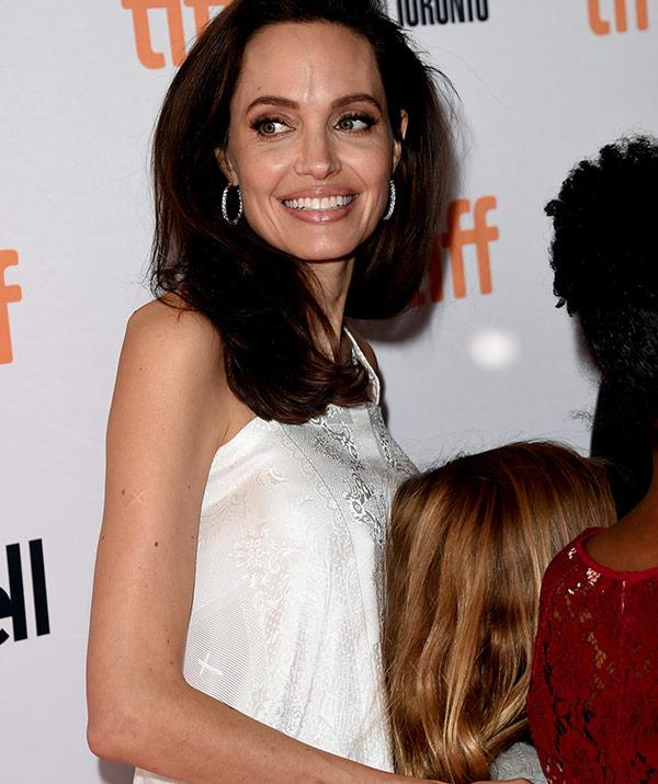 """Angelina takes being a role model """"very seriously."""""""