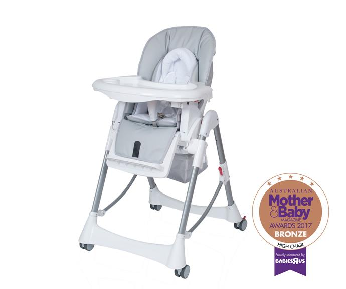 The Steelcraft Messina high chair.