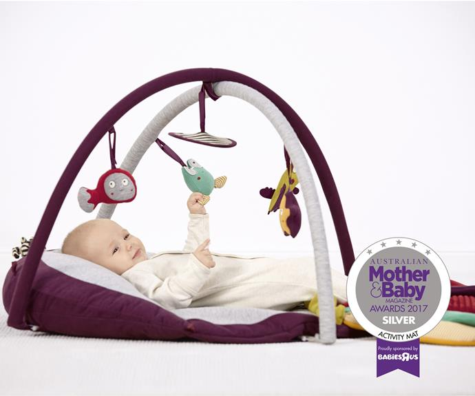 """The [Mamas & Papas Playmat & Tummy Time Octopus](https://www.mamasandpapas.com/en-gb/octopus-playmat-gym/p/759482771/