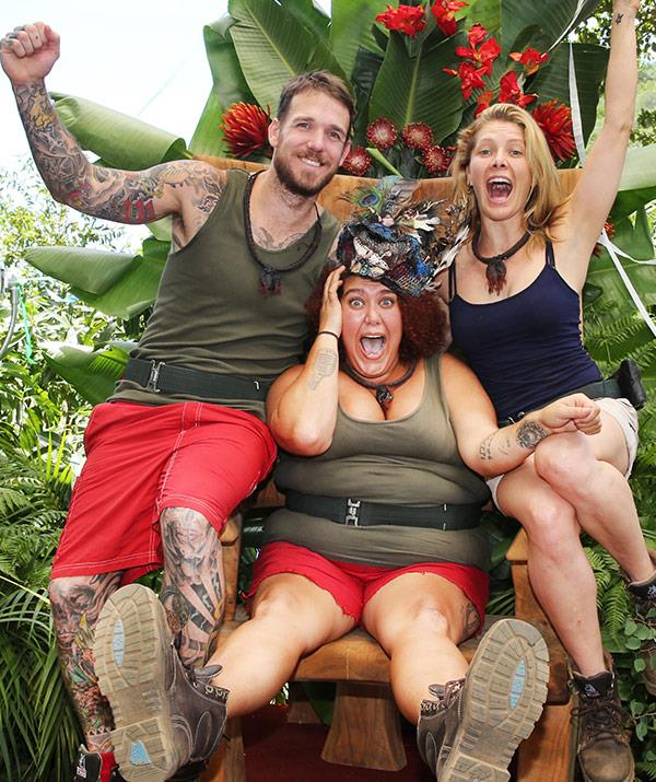Casey has changed her outlook on healthy living thanks to the jungle.