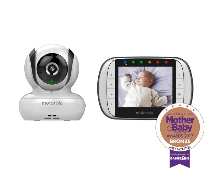 """[The Motorola MBP36S Digital Video Monitor](https://www.gadgetcity.com.au/motorola-mbp36-s-deluxe-video-and-sound-baby-monitor-p-3199.html