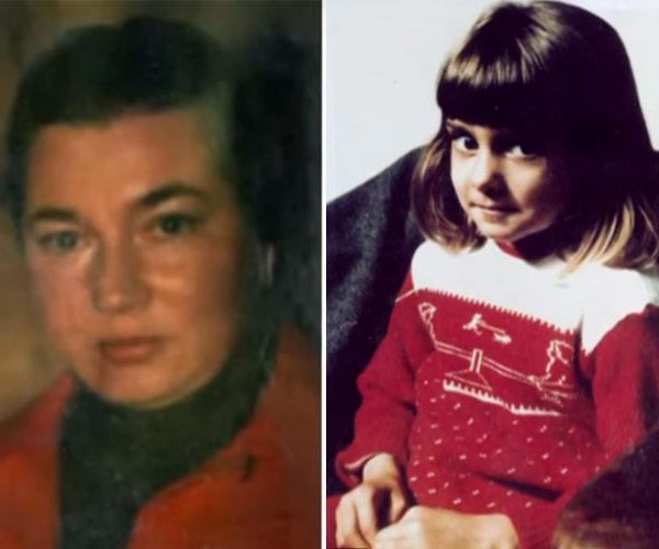 """She ran a torture chamber. It was a torture chamber. She was a person who took delight and smile in hurting you,"" Sinead (pictured on the right as a child) says of her mother (L)."
