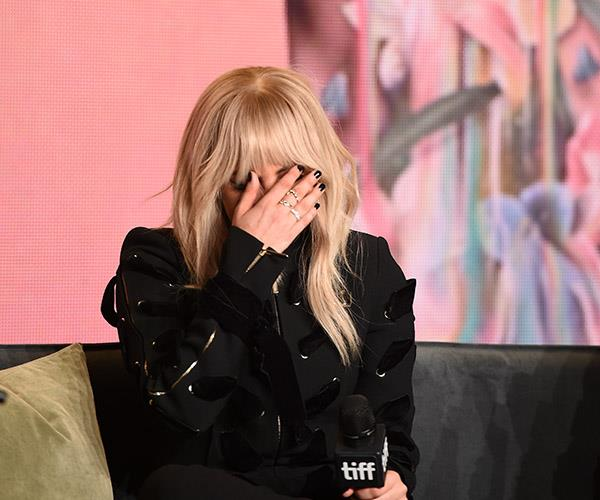 The singer broke down during a press conference when speaking about her on-going battle with the condition.